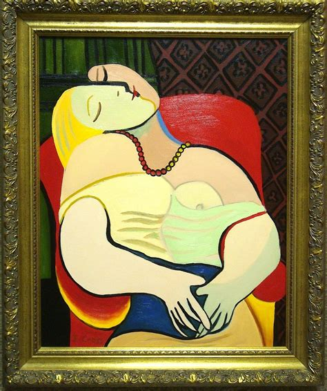 picasso paintings le reve my as an artist by jacqueline cross october show at
