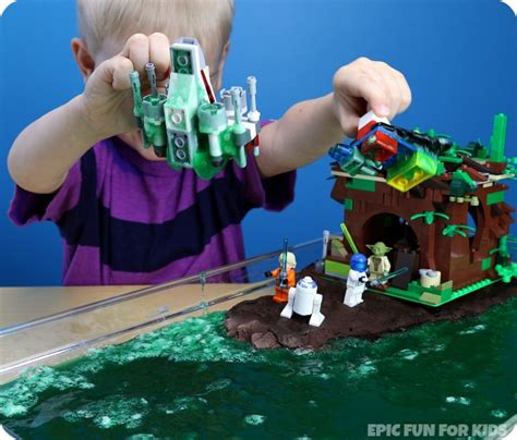 Small Cool by Lego Star Wars Yoda S Swamp Slime Activity Epic Fun For Kids