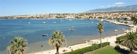appartamenti spiaggia zrce novalja isola di pag le spiagge di novalja spiaggia
