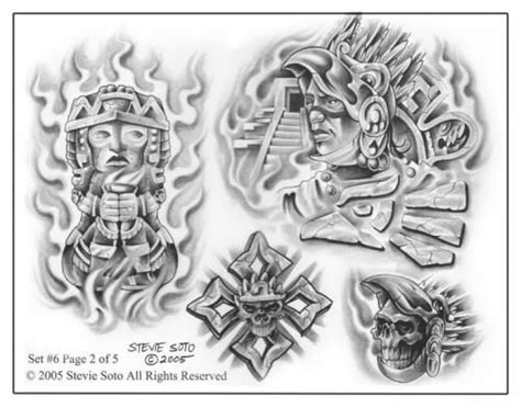 tattoo flash patterns 1000 images about mexican art on pinterest aztec aztec