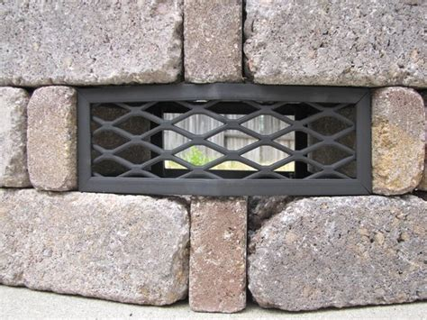 pavestone 174 rumblestone round fire pit vent frameless