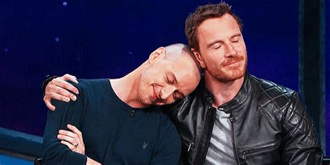 Interviu Charles Jstewart William Bcashjr mygifs so mcavoy michael fassbender