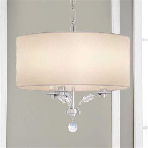 White Drum Shade Chandelier Light Fixtures Design Ideas White Drum Shade Chandelier
