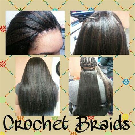 straight crochet hairstyles best 25 crochet braids straight hair ideas on pinterest