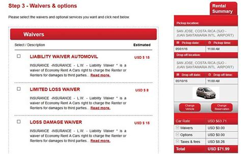 Car Rental Types Of Insurance by Your Costa Rica Car Rental Insurance Questions Answered
