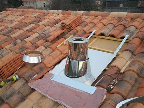 solin cheminee notre maison ossature bois isolation paille janvier 2012