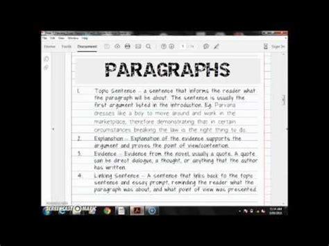 Parvana Essay by Parvana Essay Paragraph Part 2 3
