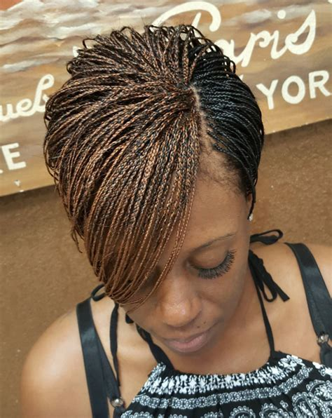 braided pixie cut dope braided pixie via braidsbytasha http community