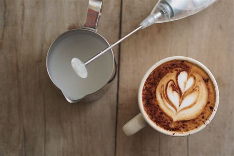 how to design milk froth latte art choosing a milk frother taste of phd