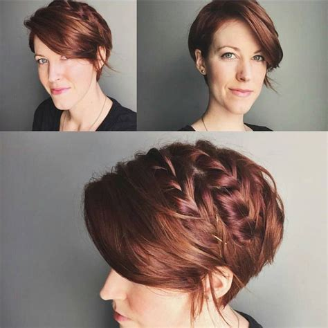braided pixie cut best 25 pixie updo ideas on pinterest pixie styles