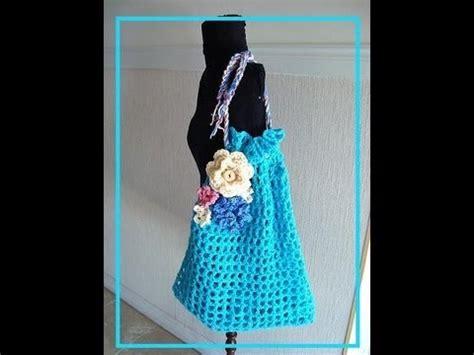 bag pattern youtube how to crochet a market bag free crochet pattern bags