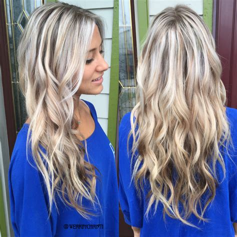 platinum highlights with ash brown hair platinum blonde silver blonde ash blonde balayage