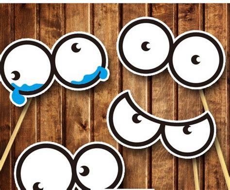 Kitchen Message Center Ideas 4 different round eyes diy photo booth props wedding party