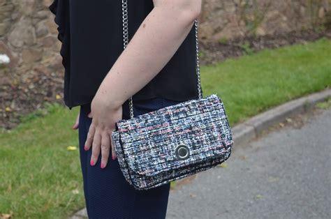 Zara Backpack Tweed 2015 ruffle trend autumn 2015 2016 jacquardflower