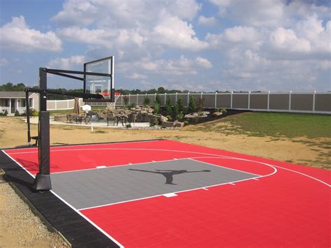 basketball court backyard backyard basketball court outdoor basketball court measurements high school outdoor