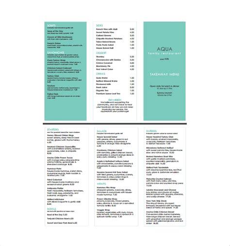 pizza menu template word free menu templates for word printables and menu