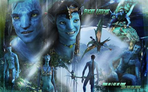 themes in avatar 2009 film avatar images flight lessons hd wallpaper and background