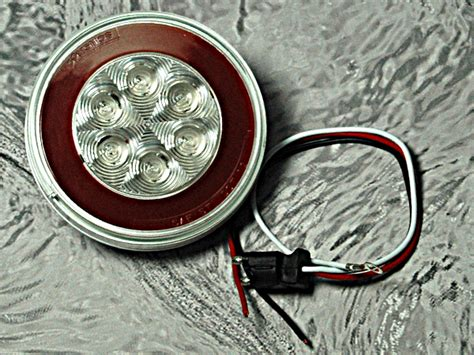 4 inch round led tail lights with glolight led tail light 4 inch round