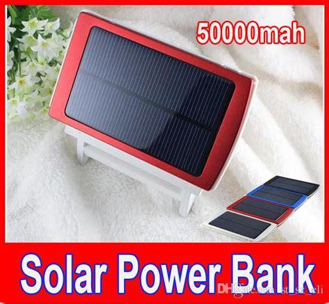 mah solar power bank charger battery  mah
