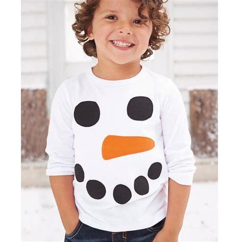 Lnice Boy 57 Sz 1 6t 2018 snowman children t shirts sleeve white boys t shirts embroidery top quality