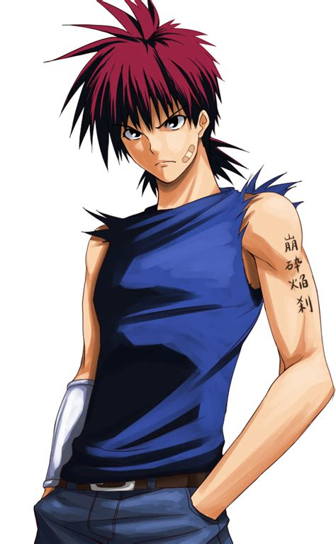 flame of recca tattoo designs recca no honoo of recca zerochan anime image board