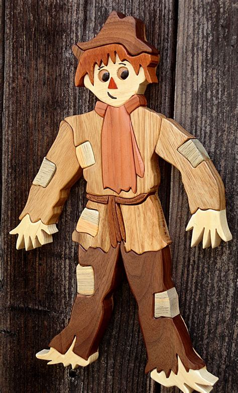 woodworking intarsia best 25 wood scarecrow ideas on