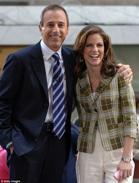 nbc shoots down rumors of today natalie morales nbc s matt lauer rumored to be unfaithful to his second