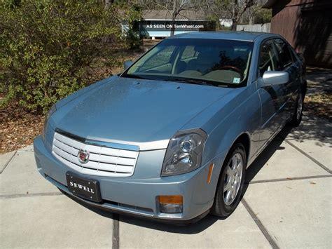 2007 Cadillac Cts Base 2007 cadillac cts base sedan 4 door 3 6l