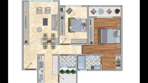 floor plan rendering adobe photoshop cc youtube