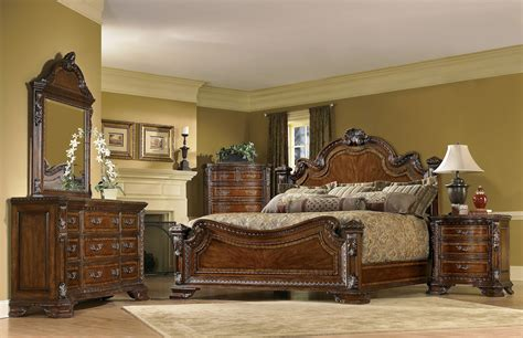world  piece king traditional european style bedroom furniture set