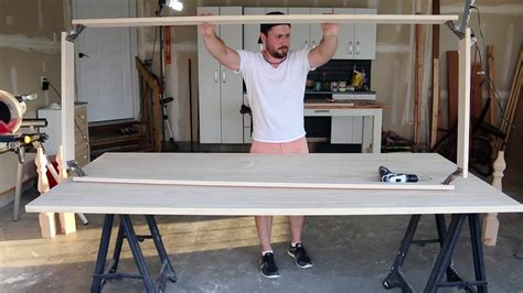 build table tennis legs how to build a dining table part two build an apron and attach legs