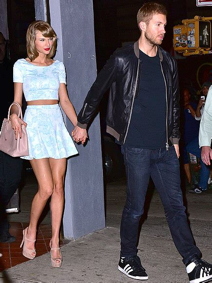 how tall is taylor swift s brother taylor swift and calvin harris enjoy an italian dinner
