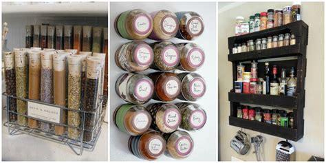 Organize Spice Rack How To Organize Spices Diy Spice Rack Ideas