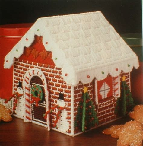 gingerbread house pattern book 61 best plastic canvas images on pinterest plastic