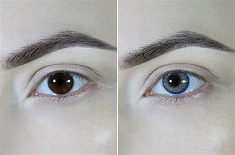 colored contacts for before and after ttdeye real aqua colored contact lenses review before