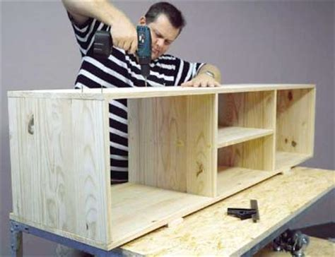 build your own tv stand plans woodwork
