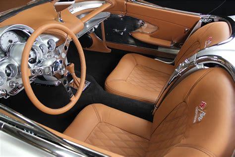Handmade Interiors - 1961 chevrolet corvette custom convertible 180663