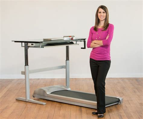 Computer Desk Treadmill Rebel Treadmill And Desk Combination Review 187 The Gadget Flow
