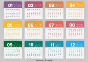 Calendario Vetor 2016 Calendar Free Vector Stock Graphics