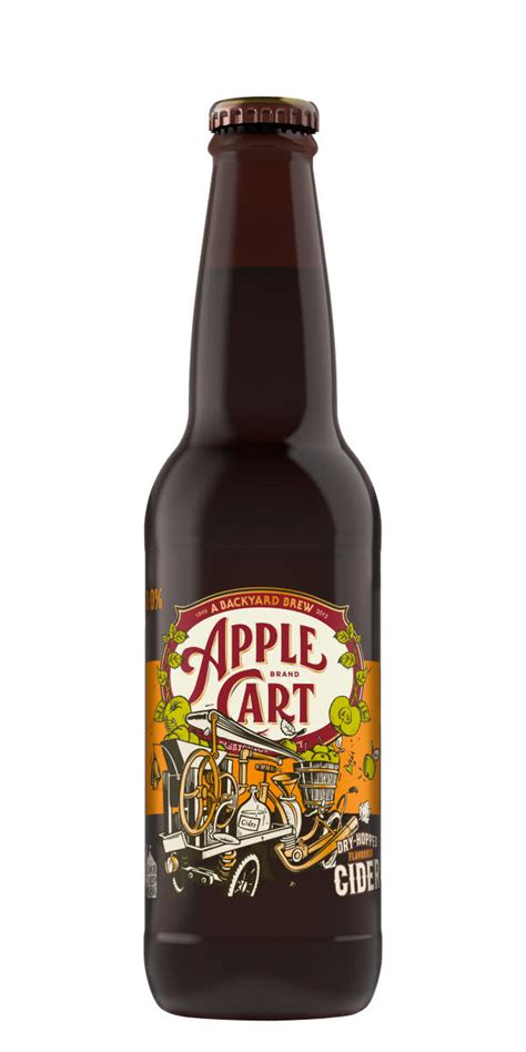 backyard brewing backyard brew apple cart dry hopped cider dryckeslistan