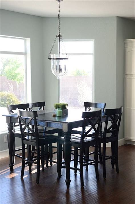 kitchen and dining room paint colors i really like the paint color great contrast with table