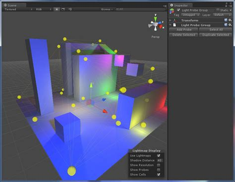 unity tutorial light probe introduction to unity 3 5 asset pipeline3d game engine