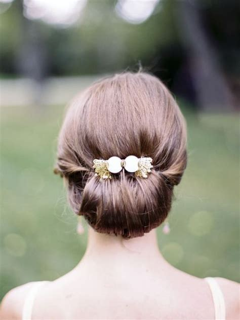 Wedding Hair In A Bun by Soft Tender Medium Wedding Hairstyles 2015 Hairstyles