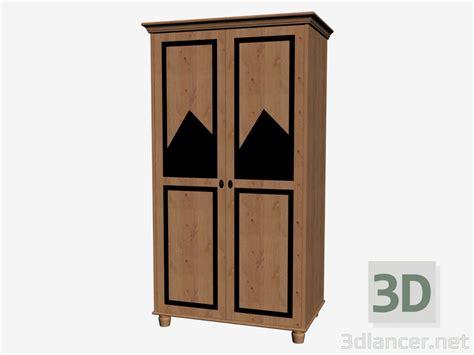 3d model wardrobe 2 door manufacturer collection