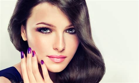 hair and makeup eastbourne shellac manicure or pedicure butterfly makeup groupon