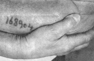 tattoo numbers auschwitz dunner s october 2007