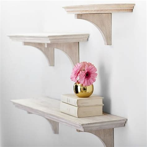 Simple White Shelves Simple Shelves Aged White Pbteen