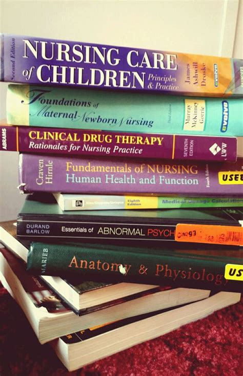 Nursing School Books - what to study before nursing school nursing school study
