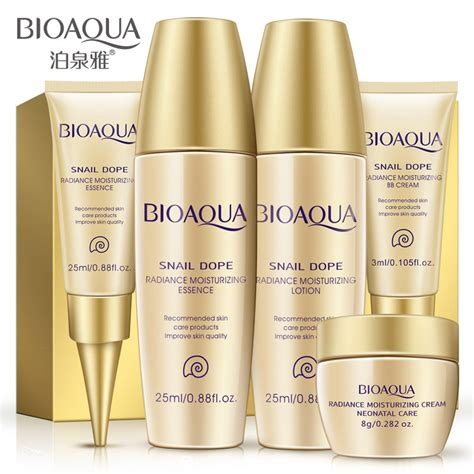 Bioaqua Pearls Lotion Anti Aging bioaqua care skin care set travel anti aging
