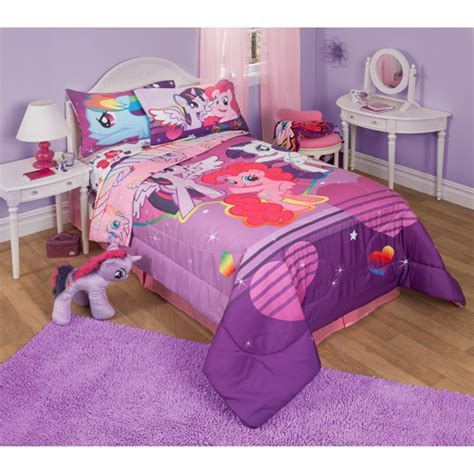 walmart bedding twin my little pony pony fied twin full bedding comforter